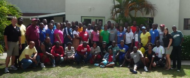 Participants of the second National Coaching Certification Program (NCCP) Level 1 Certification clinic 17 to 19 July