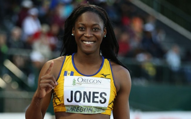 Akela Jones Barbados Rio 2016 team