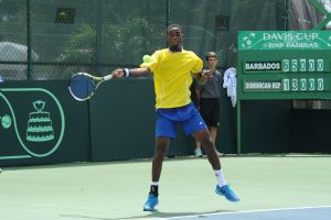 Darian King Barbadosw Tennis player at Rio 2016